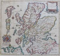 A Mapp Of the Kingdome Of Scotland : R. Blome