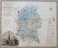 Map Of The County Of Wilts. : C. & J. Greenwood