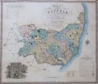 Map Of The County Of Suffolk : C. & J. Greenwood