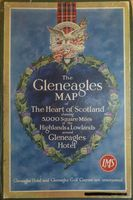 Gleneagles Map of the Heart of Scotland showing 5,000 Square Miles ... around Gleneagles Hotel : London, Midland and Scottish Railway / W. & A. K. Johnston