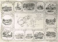 Illustrated Map of Feejee Presented by the Missionary Committee : A. La Riviere