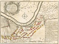A Plan Of The Battle of Plassey ...1757 : London Magazine