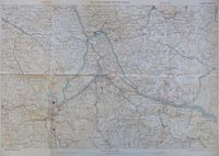 Military Guide Map of Kandy : Survey Department of Ceylon