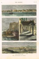 Limasol / Water Gate at Famagusta / Farmhouse at Pyla / Nikosia : The Graphic