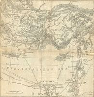 untitled [map of Eastern Mediterranean] : E. Stanford for Daily News