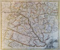 A Map Of Hungary : J. Senex