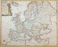 A New And Accurate Map Of Europe ... : E. Bowen