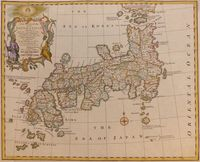A New And Accurate Map Of The Empire Of Japan ... : E. Bowen