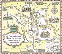 A Plan Of The City of Salisbury in the County of Wiltshire : A. E. Taylor