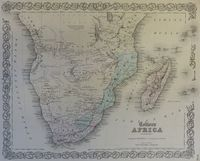 Africa (Southern Sheet) : J.H. Colton