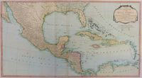 A New And Complete Map Of The West Indies ... All The Coasts : R. Laurie & J. Whittle