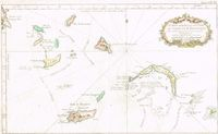 Carte Des Isles Situees Au Nord De St Domingue ... : J. N. Bellin