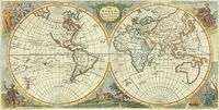 The World, Agreable to the latest Discoveries : J. Jefferys