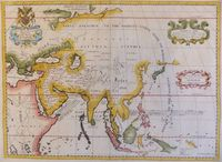 A New Map Of Ancient Asia Dedicated to His Highness William Duke of Gloucester : E. Wells