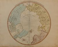 A Map Of The Countries Thirty Degrees Round The North Pole : S. Neele