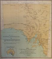 Map Of South Australia : Commissioner of Crown Lands
