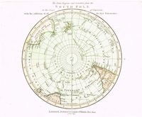 The Polar Regions And Countries From The South Pole To The Tropic Of Capricorn : R. Laurie & J. Whittle