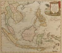 A Map Of The East India Islands, Agreeable To The Most Approved Maps And Charts : T. Kitchin