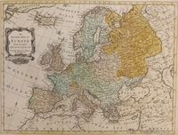 An Accurate Map of Europe : R.W. Seale / J. Hinton
