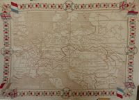Map of Europe Cloth : unknown