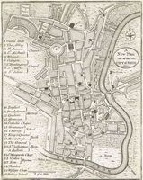 A New Plan Of The City Of Bath : W. Taylor