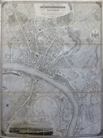 Plan Of The Town & County Of Newcastle Upon Tyne And The Borough Of Gateshead ... : T. Oliver
