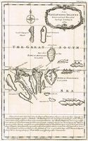 The Gallapagos Islands Discovered .... By Capt.Cowley in 1684 : E. Bowen
