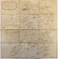 A Sketch Of The Roads Within Fourteen Miles Of Tunbridge ... : J. Sprange