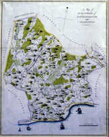 A Map Of The Hundreds Of Loningborough And Folkestone