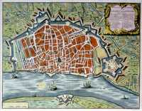Plan Of The Town And Citadel Of Antwerp