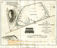 Plan And Survey Of Pontefract Race Course, ... County Of York;