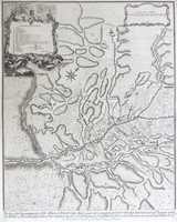 Plan Of The Incampment Of The Allies At Prats Del Rey ... 1711