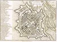 A Plan Of The City Of Munich