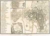 A Plan Of The City Of Hanover