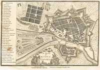 A Plan Of The City Of Cassel