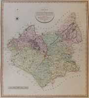 A New Map Of Leicestershire