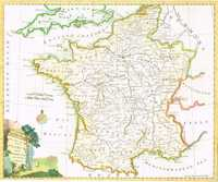 A New And Accurate Map Of France With The Netherlands .