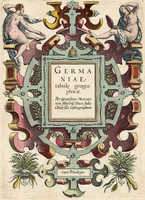 [Title-Page] Germaniae Tabule Geographicae ...