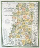 A New Map Of Mississippi