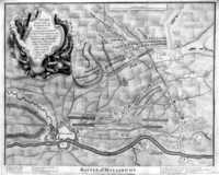 Plan Of The Camp Of The Army ... Battle Of Maestricht
