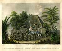 An Offering Before Captain Cook In The Sandwich Islands