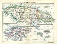 Jamaica, Falkland Is., &c.