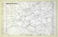 New Railway Map Of London & Suburbs