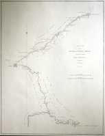 Sketch Of The Pay-Ho Or White River ... Road From Pekin To Geho