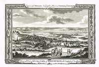 A General View Of The City & Castle Of Edinburgh, The Capital Of Scotland