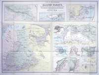 Gregory's Naval Map ... English & French Fleets