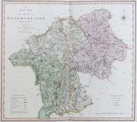 A New Map Of the County of Westmoreland Divided into Wards