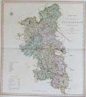 A New Map Of The County Of Buckingham