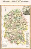 Langley's New Map Of Wiltshire
