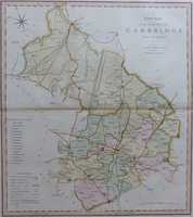 A New Map Of The County Of Cambridge